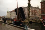 Zwodzony most w Nyhavn.