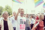 Burmistrz Kopenhagi na Copenhagen Pride. Fot. Facebook