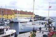 Bornholm, port w Christiansø