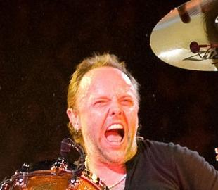 Duńczyk Lars Ulrich, perkusista zespołu Metallica