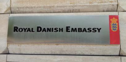 Ambasada Królestwa Danii w Warszawie, ambasada duńska