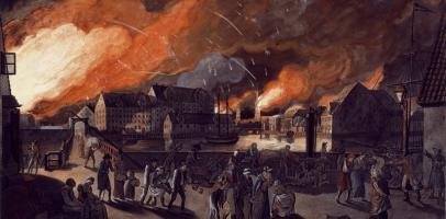 Bombardowanie duskiej stolicy Kopenhagi