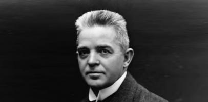 Duński kompozytor Carl Nielsen