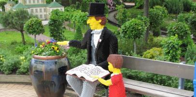 Hans Christian Andersen Legoland Dania