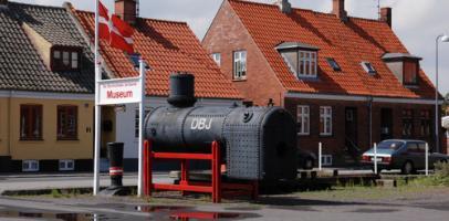 Muzeum Kolejnictwa w Nexø na duńskiej wyspie Bornholm