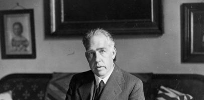 Duński fizyk Niels Bohr
