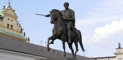 Rzeźba Bertela Thorvaldsena książę Józef Poniatowski