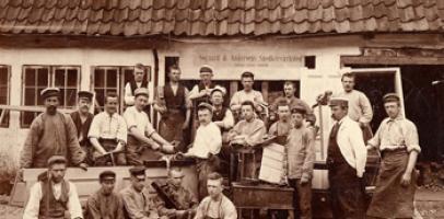 Duńscy robotnicy
