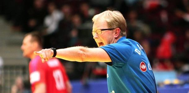 Trener reprezentacji Danii Ulrik Wilbek