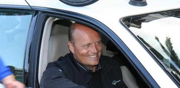 Duński kolarz, menadżer Team Saxo Bank Bjarne Riis