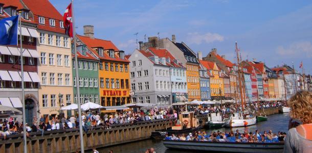 Nyhavn, Kopenhaga, Dania