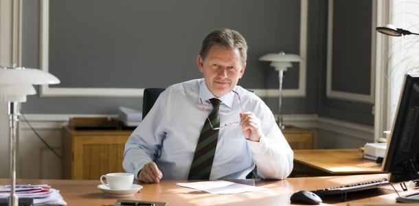 Wicepremier Danii Lars Barfoed