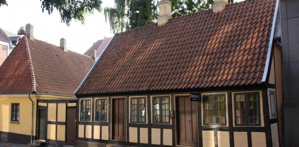 Dom Hansa Christiana Andersena w duńskim mieście Odense