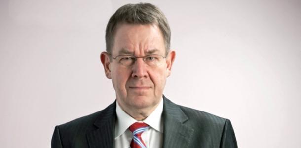 Duński polityk Poul Nyrup Rasmussen